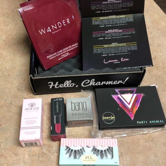 boxy charm makeup entire august box poshmark